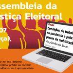 Assembleia do TRE nesta terça, 14, define mobilização por saúde nas eleições