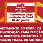 Aditamento ao edital de convocação para eleição da diretoria executiva e conselho fiscal do Sintrajud