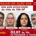 Servidores do TRE debatem eleições municipais e campanha em defesa da vida em live nesta 5ª