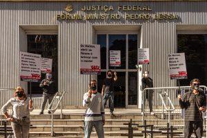 Em greve sanitária, Judiciário Federal e Estadual realizam ato simbólico em defesa da vida