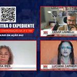 """""""Presidente do TRF está alinhado com Doria"""", afirmam servidoras em live"""
