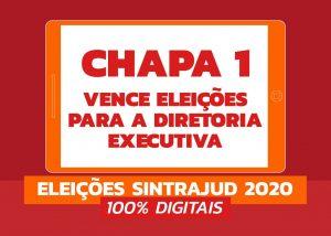 Servidores elegem para direção executiva Chapa 1 – Sempre Em Frente Sintrajud