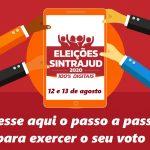 Passo a passo do voto nas chapas e no conselho fiscal do Sintrajud