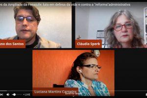 """Informes da Ampliada da Fenajufe: luta em defesa da vida e contra a """"reforma""""administrativa"""
