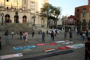03/09/2020 – Ato em Santos, contra a instalação de incineradora de lixo na cidade