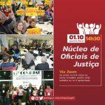 Núcleo de Oficiais de Justiça tem reunião no dia 1º de outubro
