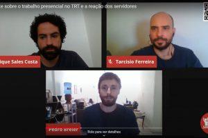 O debate sobre o trabalho presencial no TRT e a reação dos servidores