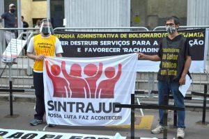 Atos em São Paulo marcaram dia de luta contra a 'reforma' das rachadinhas