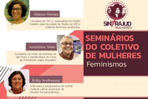 Debate sobre teorias feministas encerra ciclo de formação