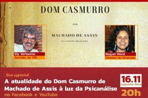 A atualidade do Dom Casmurro de Machado de Assis à luz da Psicanálise