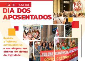 Aposentados celebram seu dia sob impacto da pandemia e dos ataques do governo